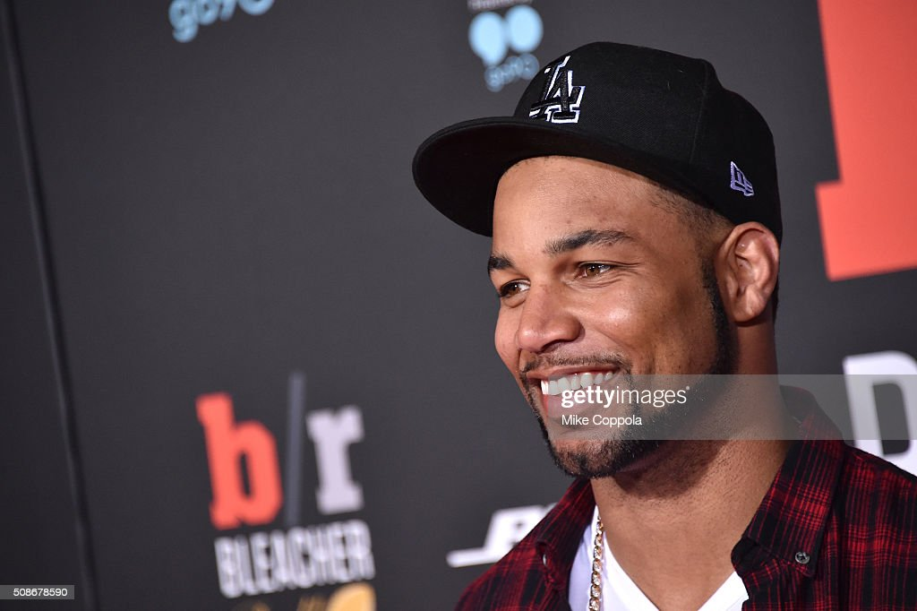 NFL player Golden Tate attends Bleacher Report's 'Bleacher Ball' presented by go90 at The Mezzanine prior to Sunday's big game on February 5, 2016 in San Francisco, California.
