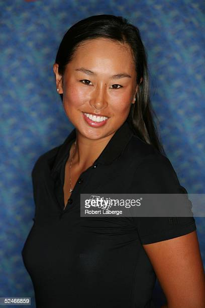 LPGA player Hana Kim poses for a portrait prior to the start of the Safeway International at Superstition Mountain Golf and Country Club on March 16...