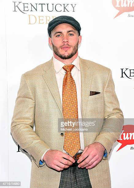 NFL player Harrison Smith attends the 141st Kentucky Derby at Churchill Downs on May 2 2015 in Louisville Kentucky