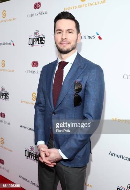 NBA player J J Redick attends 32nd Annual CedarsSinai Sports Spectacular at W Los Angeles Westwood on April 3 2017 in Los Angeles California