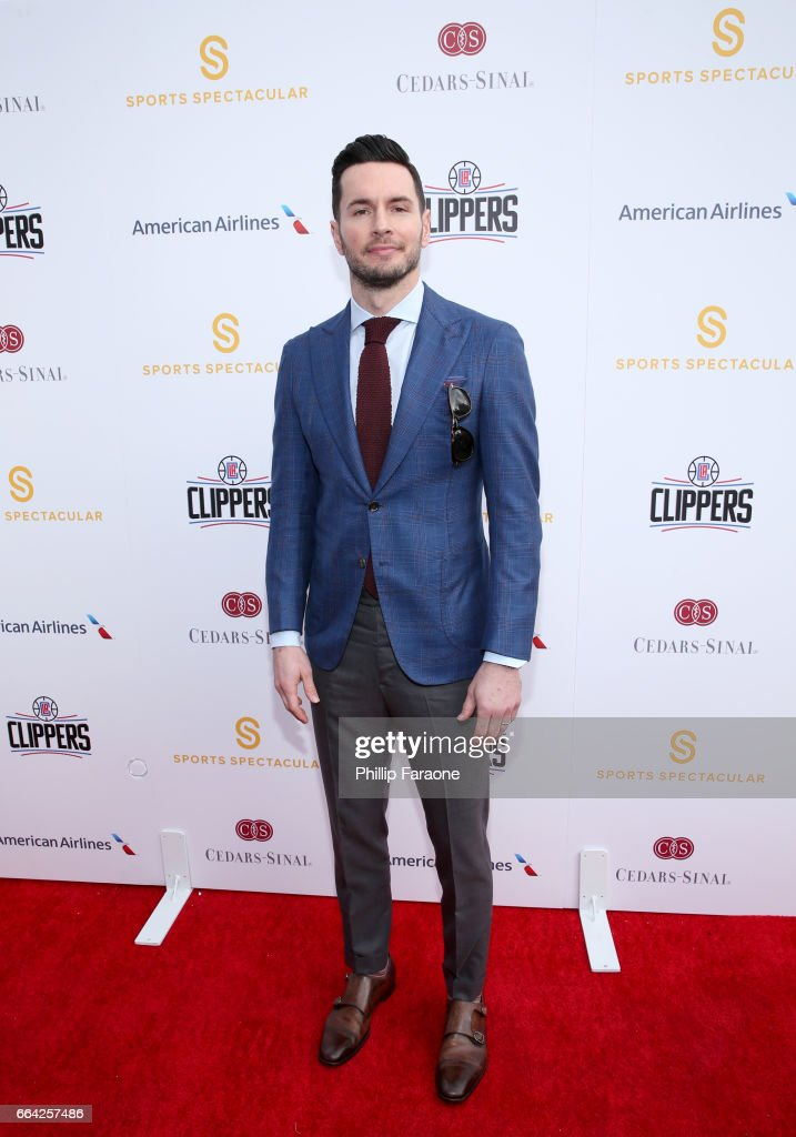 NBA player J. J. Redick attends 32nd Annual Cedars-Sinai Sports Spectacular at W Los Angeles - Westwood on April 3, 2017 in Los Angeles, California.
