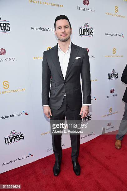 NBA player J J Redick attends the CedarsSinai Sports Spectacular at W Los Angeles – West Beverly Hills on March 25 2016 in Los Angeles California