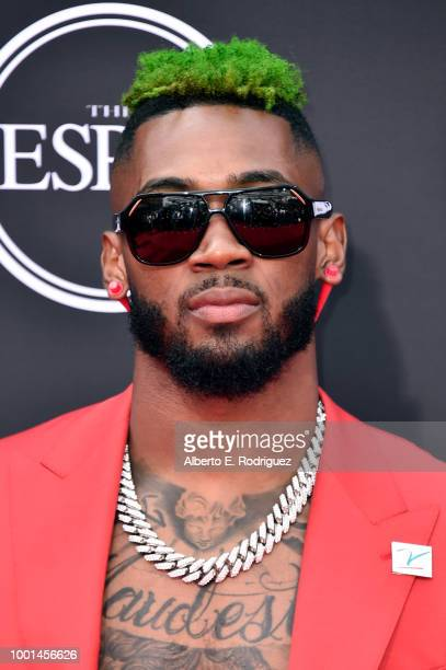 NFL player Jalen Mills attends The 2018 ESPYS at Microsoft Theater on July 18 2018 in Los Angeles California
