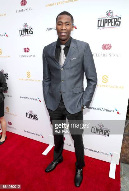 NBA player Jamal Crawford attends 32nd Annual CedarsSinai Sports Spectacular at W Los Angeles Westwood on April 3 2017 in Los Angeles California