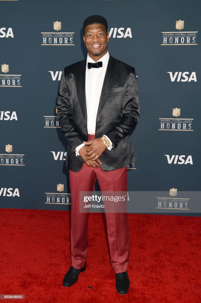 NFL player Jameis Winston attends 6th Annual NFL Honors at Wortham Theater Center on February 4, 2017 in Houston, Texas.