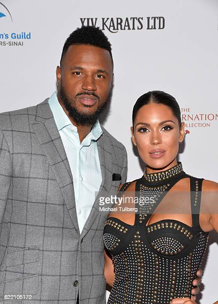 Player James Anderson and actress Carissa Rosario attend the 2016 Women's Guild Cedars-Sinai Annual Gala at The Beverly Hilton Hotel on November 9,...