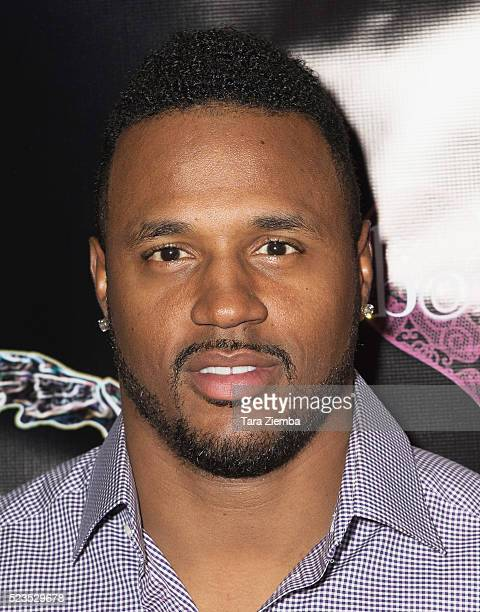 NFL player James Anderson attends the 2nd Annual Artemis Film FestivalRed Carpet Opening Night/Awards Presentation at Ahrya Fine Arts Movie Theater...