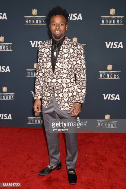 NFL player Jarvis Landry attends 6th Annual NFL Honors at Wortham Theater Center on February 4 2017 in Houston Texas