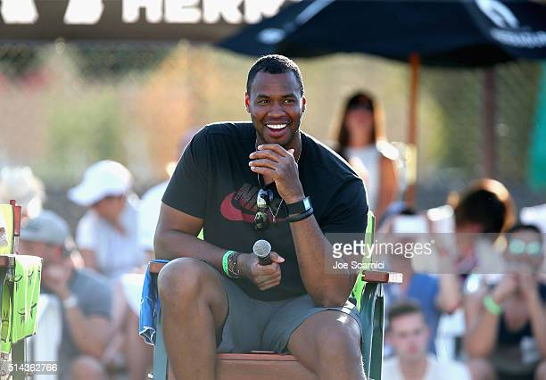 Player Jason Collins attends the 12th Annual Desert Smash Benefitting St. Jude Children's Research Hospital at Westin Mission Hills Golf Resort & Spa...