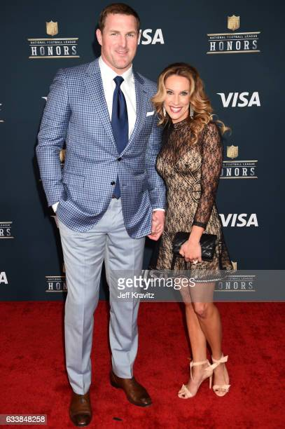 NFL player Jason Witten and Michelle Witten attend 6th Annual NFL Honors at Wortham Theater Center on February 4 2017 in Houston Texas