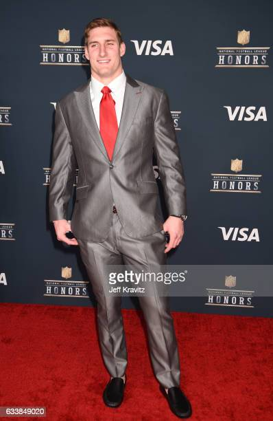 Player Joey Bosa attends 6th Annual NFL Honors at Wortham Theater Center on February 4, 2017 in Houston, Texas.