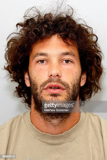 ATP player Jose Acasuso poses for a headshot at Roland Garros on May 19 2010 in Paris France