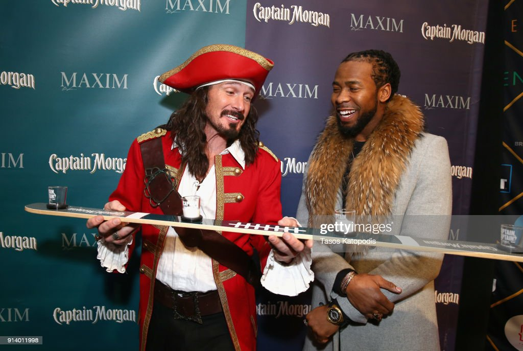 Captain Morgan Helps Raise Money for Charity At The 2018 Maxim Party