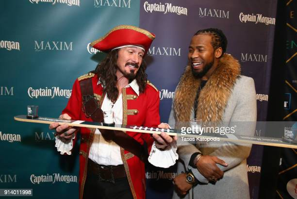 NFL player Josh Norman enjoys Captain Morgan LocoNut which triggered a $100 donation from the rum brand to support the Cowboy Jacks Foundation at the...