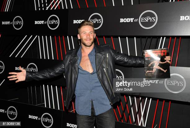 NFL player Julian Edelman at BODY at ESPYS at Avalon on July 11 2017 in Hollywood California