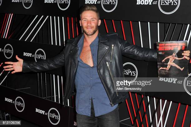 NFL player Julian Edelman attends BODY At The ESPYS PreParty at Avalon Hollywood on July 11 2017 in Los Angeles California