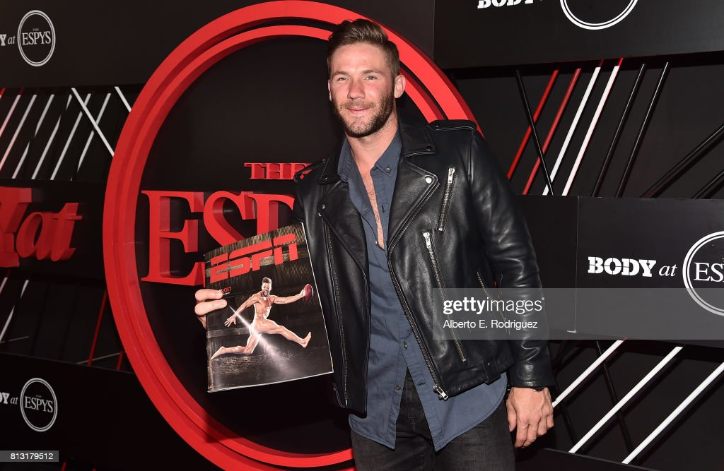 NFL player Julian Edelman attends the BODY at The EPYS Pre-Party at Avalon Hollywood on July 11, 2017 in Los Angeles, California.