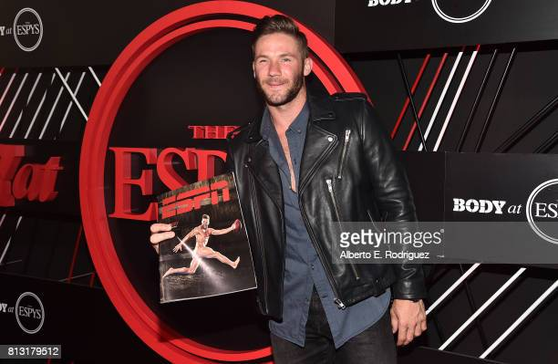 NFL player Julian Edelman attends the BODY at The EPYS PreParty at Avalon Hollywood on July 11 2017 in Los Angeles California