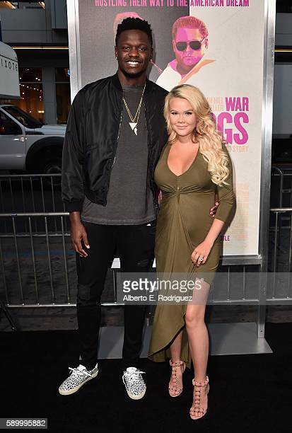 NBA player Julius Randle attends the premiere of Warner Bros Pictures' 'War Dogs' at TCL Chinese Theatre on August 15 2016 in Hollywood California