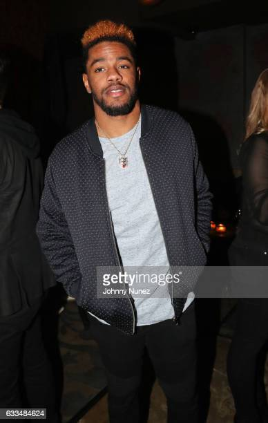 NFL player Juston Burris attends Reinge Clothing presents Cocktails and Clothing at Avenue NYC on February 1 2017 in New York City