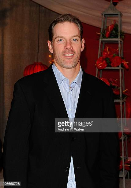 NFL player Kerry Collins attends the 58th Annual BMI Country Music Awards at BMI on November 9 2010 in Nashville Tennessee