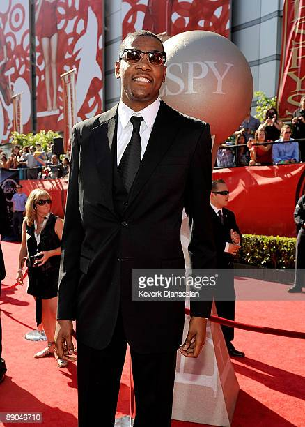 NBA player Kevin Durant arrives at the 2009 ESPY Awards held at Nokia Theatre LA Live on July 15 2009 in Los Angeles California The 17th annual ESPYs...