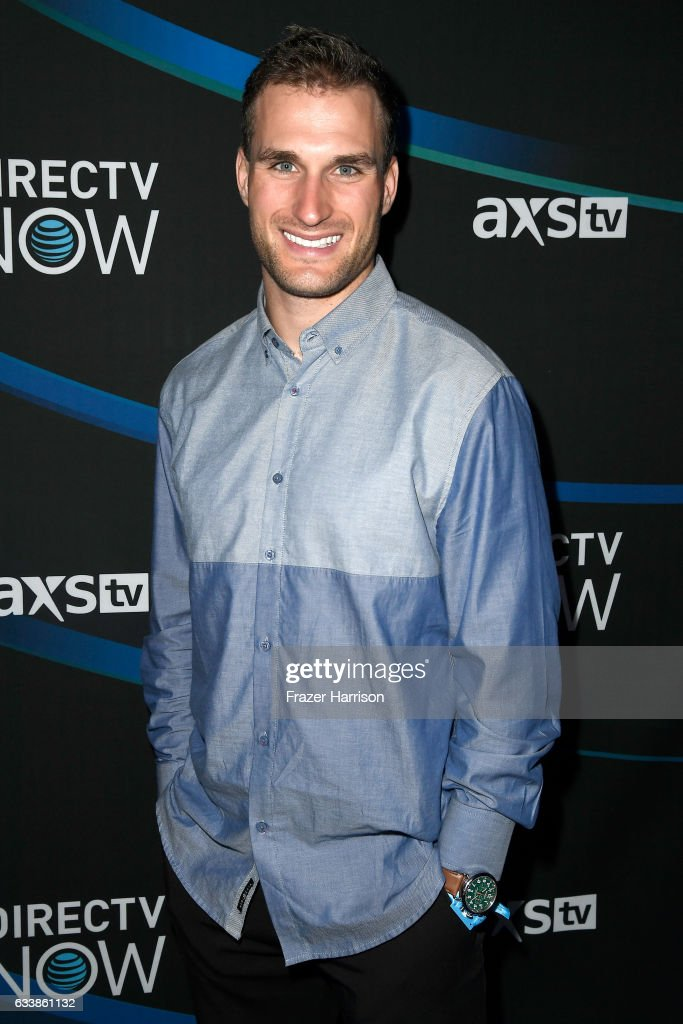 NFL player Kirk Cousins attends the 2017 DIRECTV NOW Super Saturday Night Concert at Club Nomadic on February 4, 2017 in Houston, Texas.