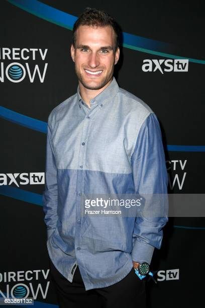 NFL player Kirk Cousins attends the 2017 DIRECTV NOW Super Saturday Night Concert at Club Nomadic on February 4 2017 in Houston Texas