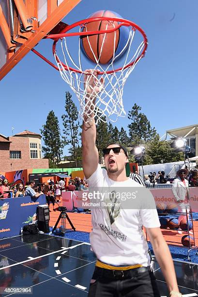 NBA player Klay Thompson attends the Nickelodeon Kids' Choice Sports Awards 2015 at UCLA's Pauley Pavilion on July 16 2015 in Westwood California