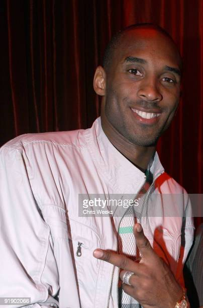 NBA player Kobe Bryant attends LAX Nightclub on October 14 2009 in Las Vegas NV