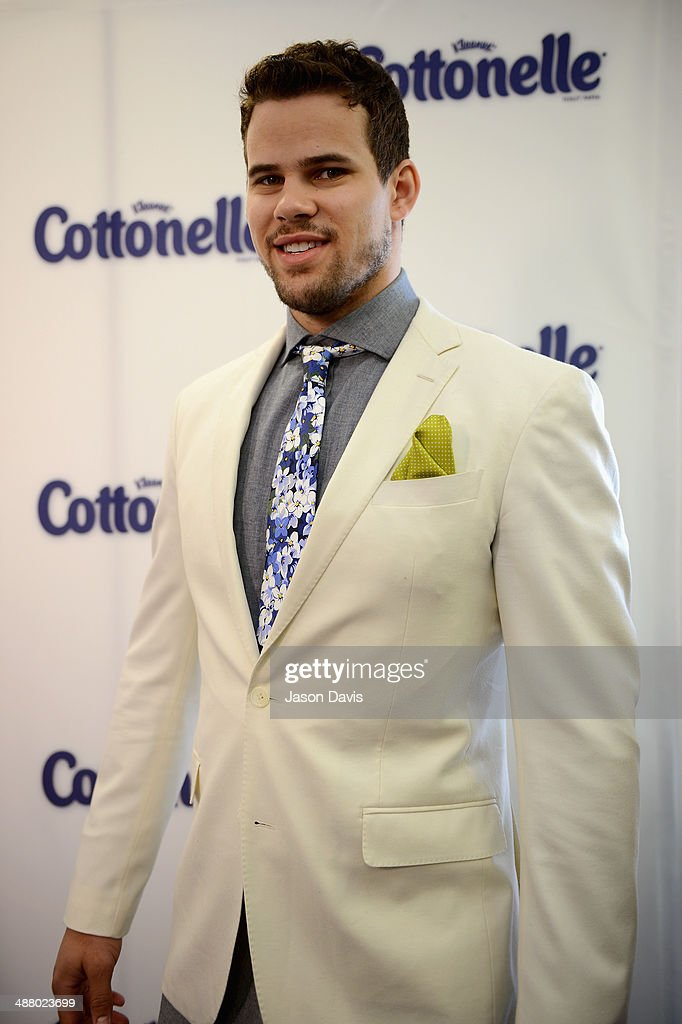 NBA player Kris Humphries attends Cottonelle Celebrity 'Clean Room' at the 140th Kentucky Derby at Churchill Downs on May 3, 2014 in Louisville, Kentucky.
