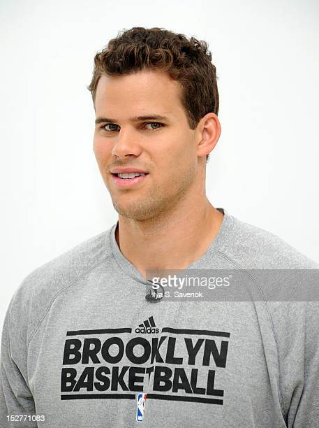 Player Kris Humphries attends The Kris Humphries Challenge For Kids Event at BEDFORDSTUYVESANT YMCA on September 25 2012 in New York City