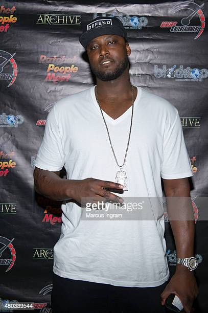 NBA player Kwame Brown attends Ratchet People Meet present Socially Profiled at Rialto Center for the Arts on July 10 2015 in Atlanta Georgia