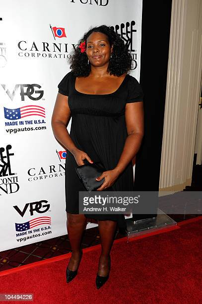 WNBA player Kym Hampton attends the 25th Great Sports Legends Dinner to benefit The Buoniconti Fund to Cure Paralysis at The Waldorf=Astoria on...