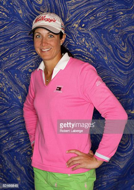 LPGA player Laura Diaz poses for a portrait prior to the start of the Safeway International at Superstition Mountain Golf and Country Club on March...