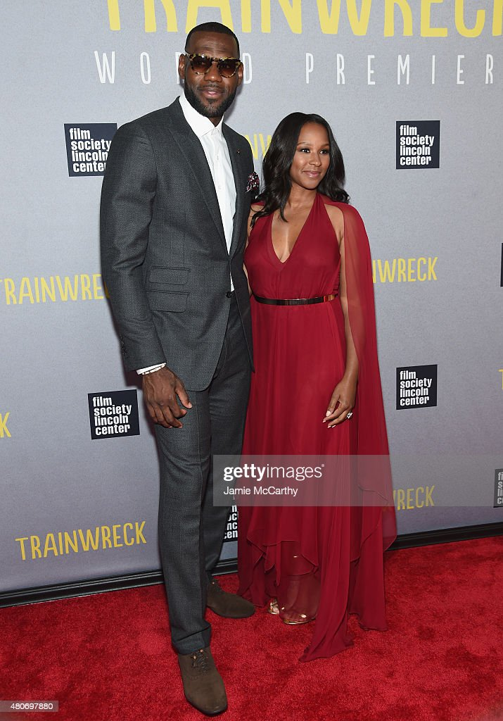 600f145ee9e0 NBA player LeBron James and wife Savannah Brinson attend the... News ...