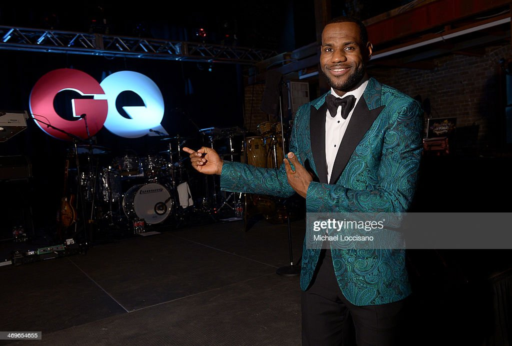 GQ & LeBron James NBA All Star Party Sponsored By Samsung Galaxy And Beats - Inside : News Photo