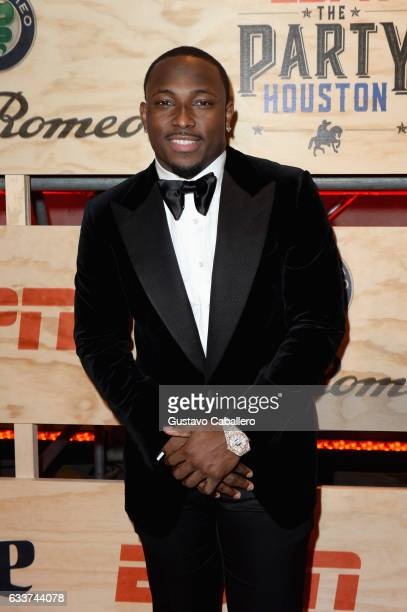 NFL player LeSean McCoy attends the 13th Annual ESPN The Party on February 3 2017 in Houston Texas