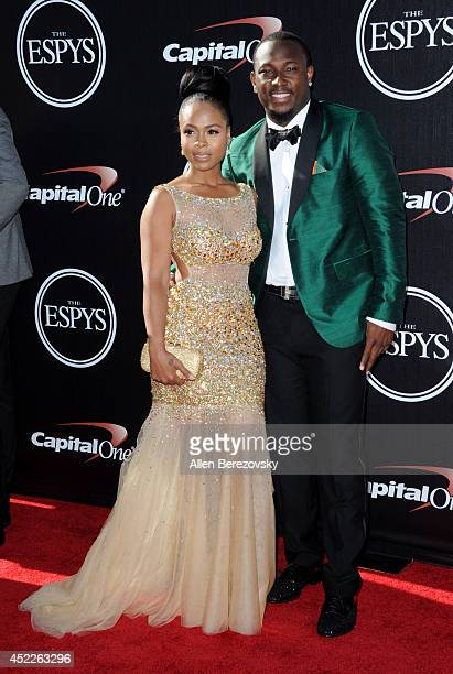 NFL player LeSean McCoy attends the 2014 ESPY Awards at Nokia Theatre LA Live on July 16 2014 in Los Angeles California