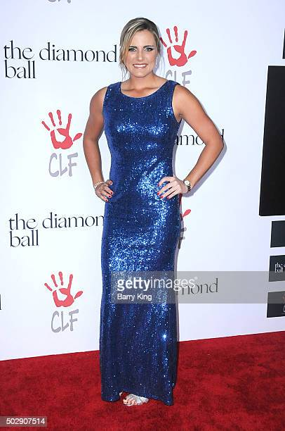 Player Lexi Thompson attends the Rihanna And The Clara Lionel Foundation 2nd Annual Diamond Ball at The Barker Hanger on December 10 2015 in Santa...