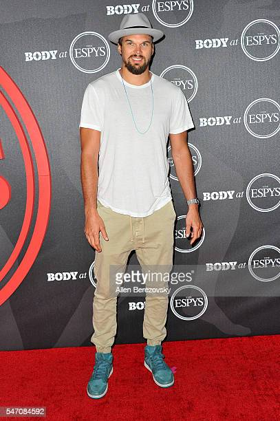 NBA player Lou Amundson attends BODY At The ESPYs PreParty at Avalon Hollywood on July 12 2016 in Los Angeles California
