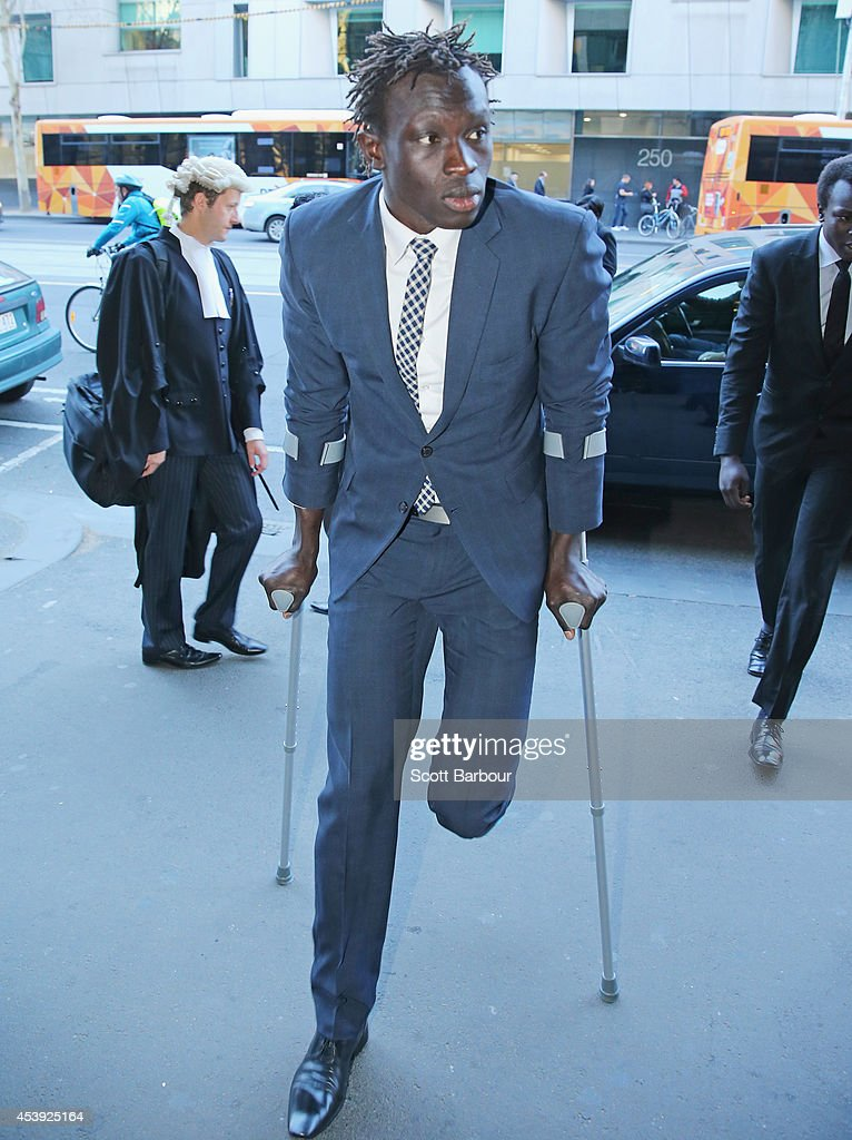 Majak Daw Appears In Court For Committal Hearing Into Alleged Rape