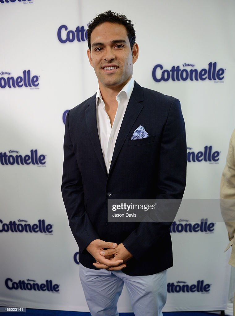 NFL player Mark Sanchez attends Cottonelle Celebrity 'Clean Room' at the 140th Kentucky Derby at Churchill Downs on May 3, 2014 in Louisville, Kentucky.