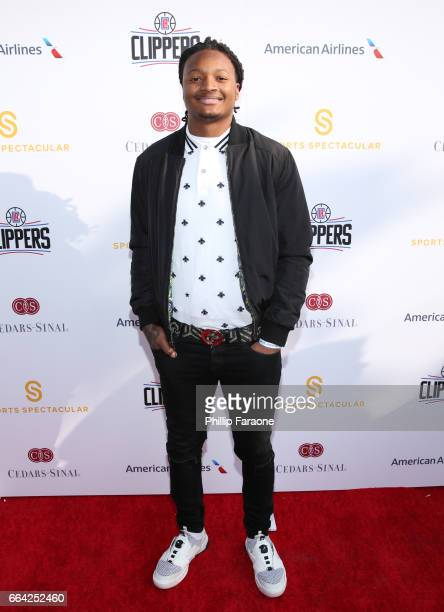 Player Marqui Christian attends 32nd Annual Cedars-Sinai Sports Spectacular at W Los Angeles - Westwood on April 3, 2017 in Los Angeles, California.