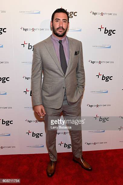 Player Matt Harvey attends Annual Charity Day hosted by Cantor Fitzgerald BGC and GFI at BGC Partners INC on September 12 2016 in New York City