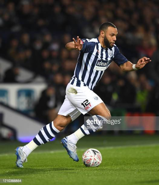 WBA player Matt Phillips in action during the FA Cup Fifth Round match between West Bromwich Albion and Newcastle United at The Hawthorns on March 03...