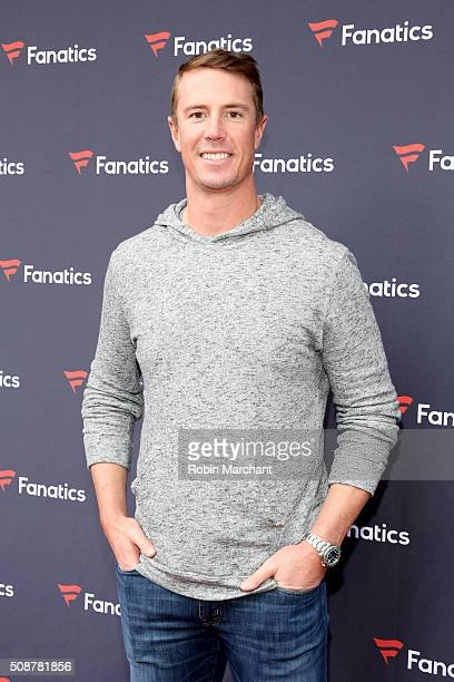 NFL player Matt Ryan attends Fanatics Super Bowl Party on February 6 2016 in San Francisco California