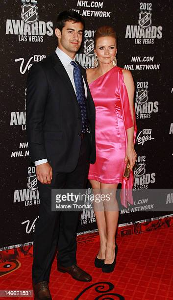 NHL player Max Pacioretty and Heidi Androl attend the 2012 nhl Awards at Wynn Las Vegas on June 20 2012 in Las Vegas Nevada