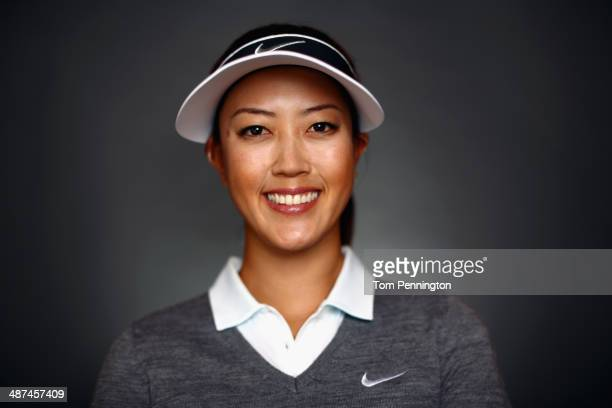 LPGA player Michelle Wie poses for a portrait prior to the start of the North Texas LPGA Shootout Presented by JTBC at the Las Colinas Country Club...