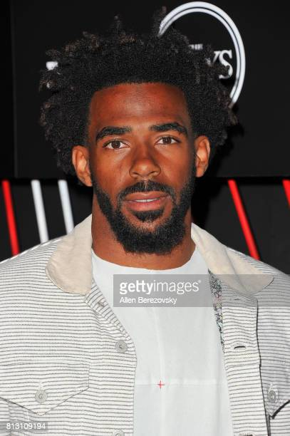 NBA player Mike Conley Jr attends BODY At The ESPYS PreParty at Avalon Hollywood on July 11 2017 in Los Angeles California